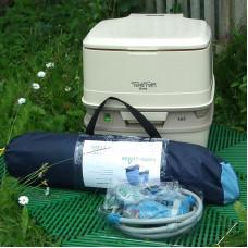Комплект для дачи (палатка / плитка / туалет / душ)