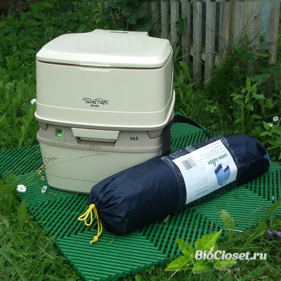 Компактный туалет для дачи купить в интернет магазине BioCloset.ru
