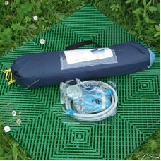 Комплект мобильный душ (палатка / плитка / душ)
