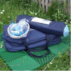 Комплект для кемпинга (палатка / плитка / туалет / душ)