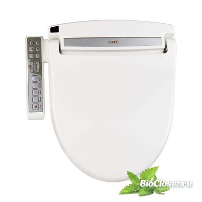 Электронная крышка биде SATO DB300M (круглая) купить в интернет магазине BioCloset.ru