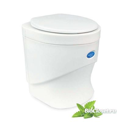 Компостирующий (сухой) биотуалет Separett Weekend 7011 белый купить в интернет магазине BioCloset.ru