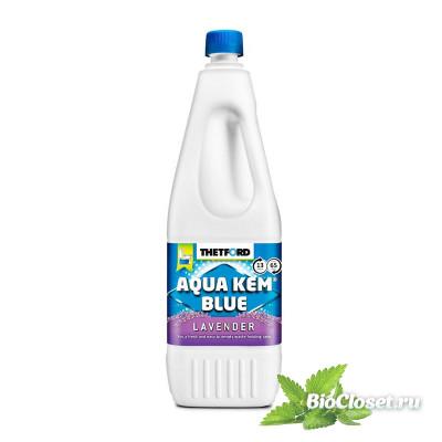 """Жидкость для биотуалета Thetford Aqua Kem Blue """"Лаванда"""" купить в интернет магазине BioCloset.ru"""