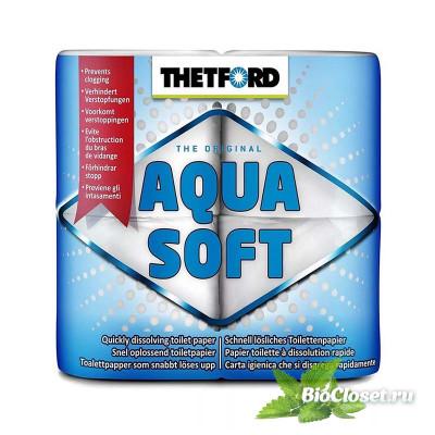 Бумага для биотуалета Thetford Aqua Soft купить в интернет магазине BioCloset.ru