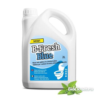 Жидкость для биотуалета B-Fresh Blue купить в интернет магазине BioCloset.ru